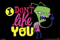 Invader Zim - I Don't Like You Poster - 22x34 - 15370