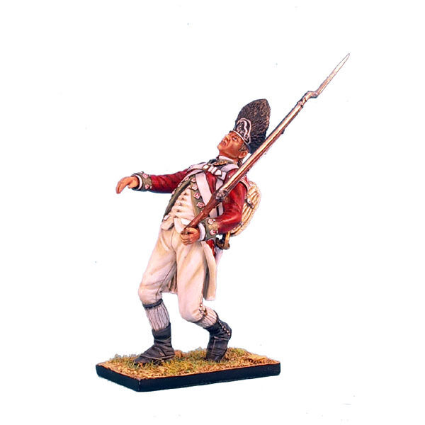 AWI037 British 5th Foot Grenadier Falling Shot by First Legion