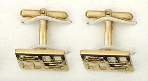 Other Fine Jewelry Cufflinks Solid Yellow Gold Oval Handmade Birmingham Jewellery Quarter Jewelry & Watches