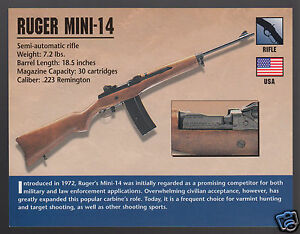 Image is loading RUGER-MINI-14-223-RIFLE-Gun-Atlas-Classic-