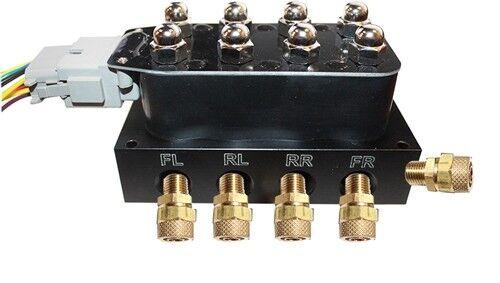 """14 func remote Accu-rate Air Switch Controller VU4 Valve Manifold w//1//2/""""  fits"""