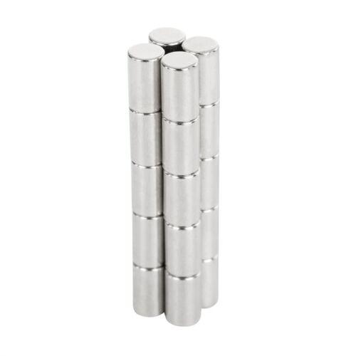N50 10 x 6mm NdFeB Disc Powerful Magnet Permanent Rare Earth Neodymium Magnet