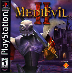 MediEvil-2-PS1-Great-Condition-Fast-Shipping