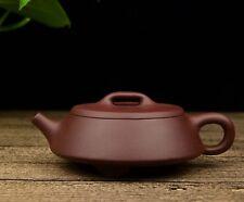 Chinese Yixing Zisha Clay Handmade Tripod Wide-mouth Shipiao Teapot 145cc