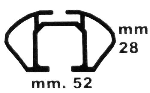 BARRE PORTATUTTO LION 2 per LAND ROVER FREELANDER 2 5tür dal 07 Sistema ba320l carbonl