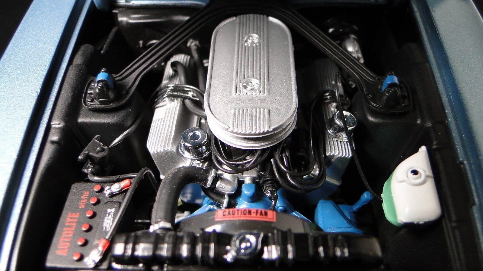 1967 Mustang Ford GT Pro Street Mod Race Car Drag Hot Rod 1 18 Carousel blu 24