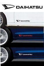 Para Daihatsu - 2 X Puerta-VINILO COCHE DECAL STICKER ADHESIVO-terios - 300mm de largo