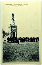 Cartolina Formato Piccolo - Caltanissetta - Monumento Al Redentore Sul Monte