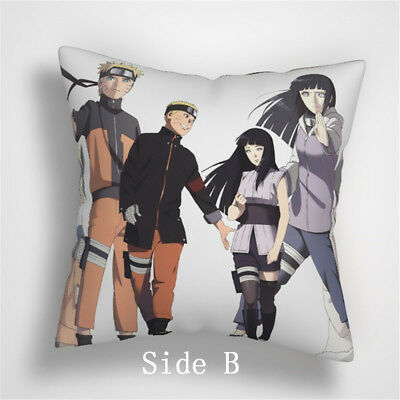 NARUTO Sakura Anime Manga two sides Pillow Cushion Case Cover 598