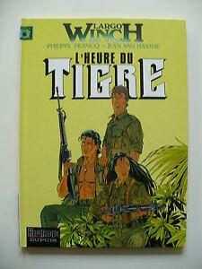 EO-tres-bel-etat-Largo-Winch-8-L-039-heure-du-tigre-Francq-Van-Hamme