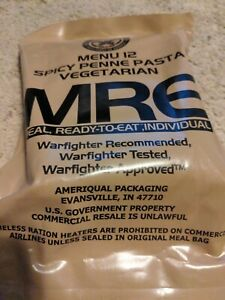 mre meals ready to eat military
