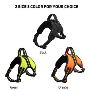Soft-Padded-Reflective-Dog-Harness-Adjustable-Pet-Dog-Puppy-Lead-Leash
