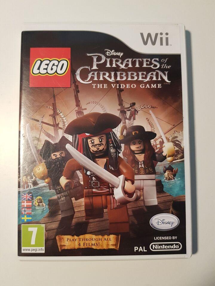 Lego Pirates of the Carribean, Nintendo Wii