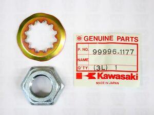 NOS Kawasaki ZX ZX1100 Ninja ZX-11 OEM Washer /& Nut Set 99996-1177