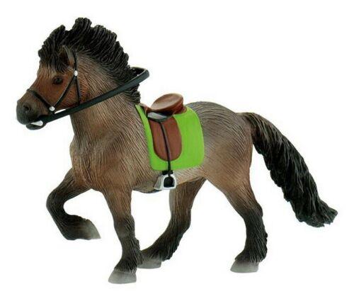 BULLYLAND 62760 Islanda cavallo cavalla con sella 15 cm Mondo Cavalli