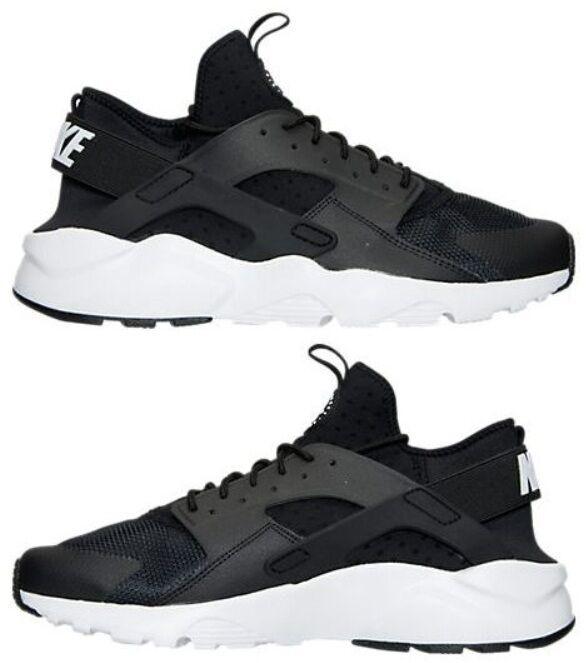 Nike Air Huarache Run Ultra Hommes M Running Noir - blanc - Anthracite Authentic