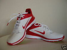 Authentic Nike Lunar Vapor Trainer Men's Shoes Size 9.5 White Red