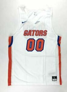 buy popular fa971 0ded3 Nike Florida Gators #00 Elite Basketball Jersey Men's Large White 867753