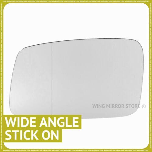 À Gauche côté pour Volvo C70 1997-2004 Large Miroir Rétroviseur Grand Angle
