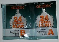 Alcotec Turbo Klar 24h, Spirit  Wine , Finnings Clear Turbo Yeast FAST FREE