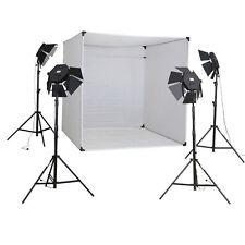 METTLE Studioset CUBE 800 Lichtzelt 200cm 4x Studioleuchte Fotozelt Lichtwürfel