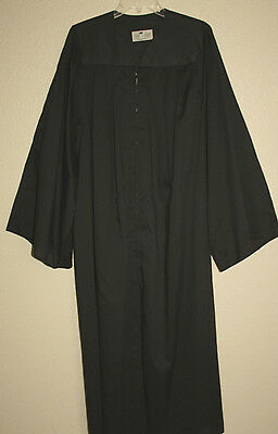 Graduation Gown Robe Judge Clergy Minister Quality Many Sizes Colors Matte