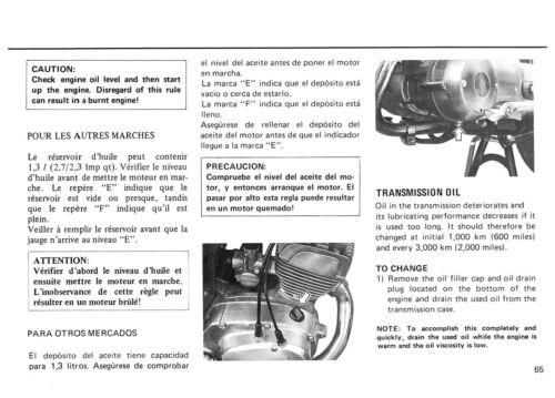 SUZUKI Workshop Manual B120 1967 1968 1969 1970 1971 1972 1973 1974 1975 1976 on