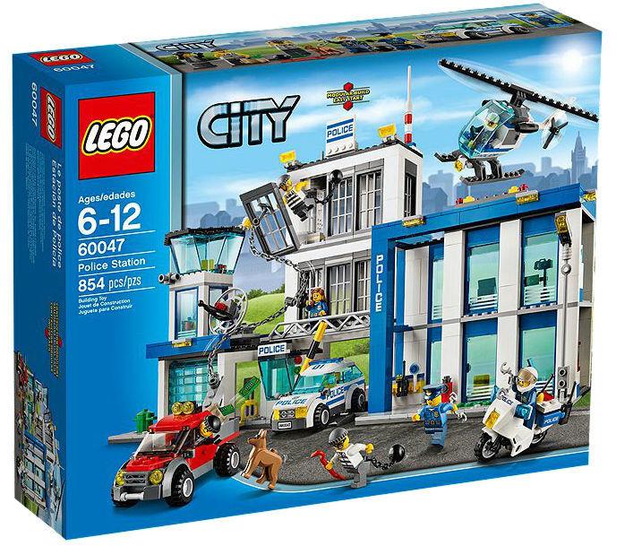 Tempêtes d'achat, le Nouvel An de Noël est le premier à être fort Lego city poste de police (60047) | Discount