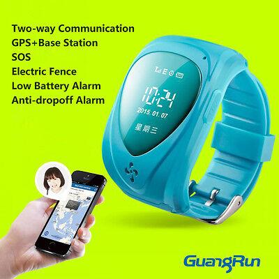JM09 Дети Смарт Часы GPS в режиме реального времени Tracker слежения Локатор SOS