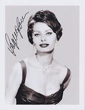 Sophia Loren Hand Signed 8x10 Photo, Autograph Two Women, Houseboat, Film Legend