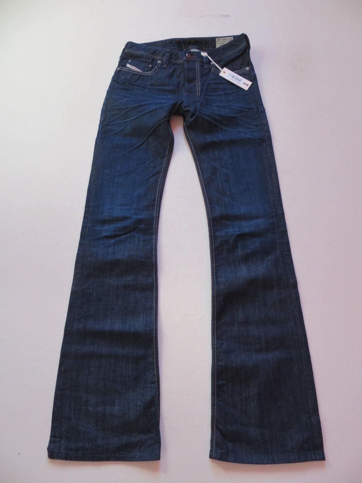 Diesel ZATHAN wash 0806W Bootcut Jeans Hose W 28  L 36, NEU   Denim Extra Lang