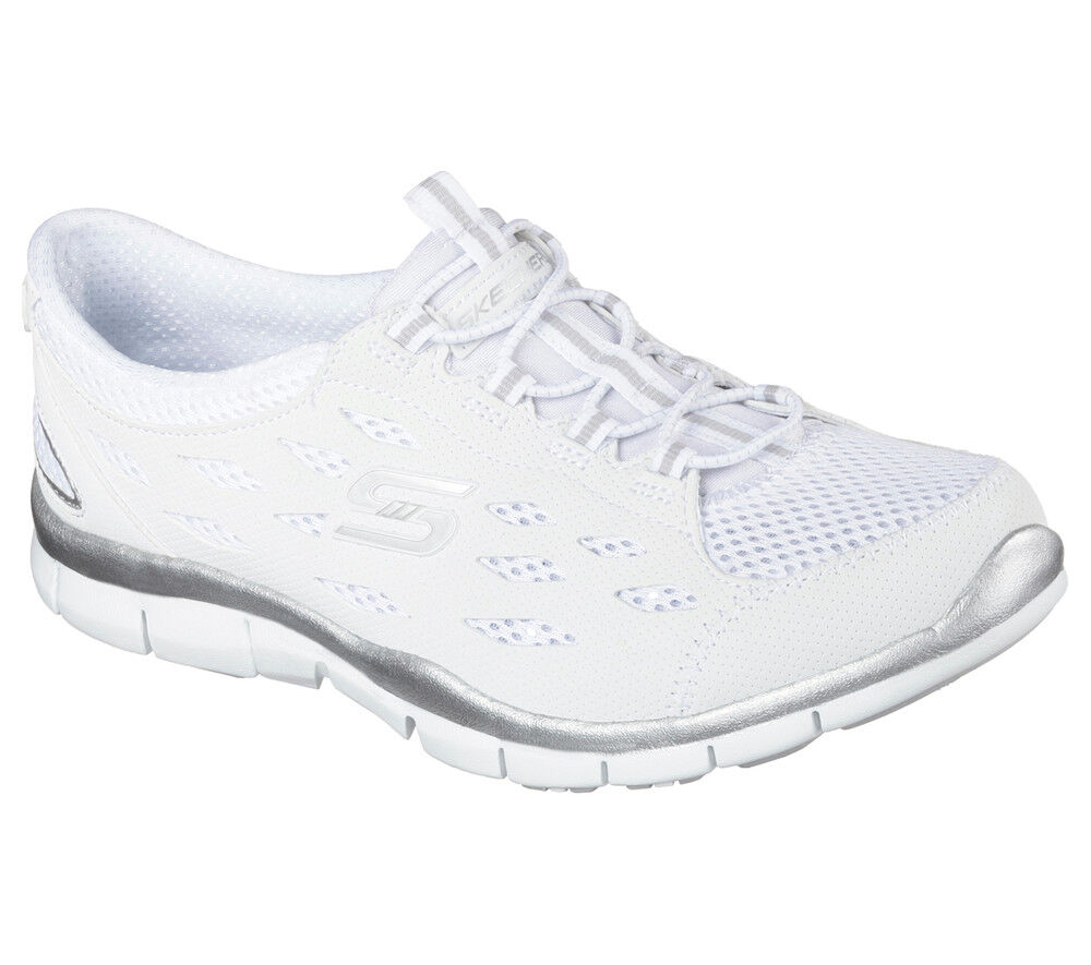 NEU Memory SKECHERS Damen Sneakers Turnschuhe Memory NEU Foam GRATIS - GOING PLACES Weiß 45f173