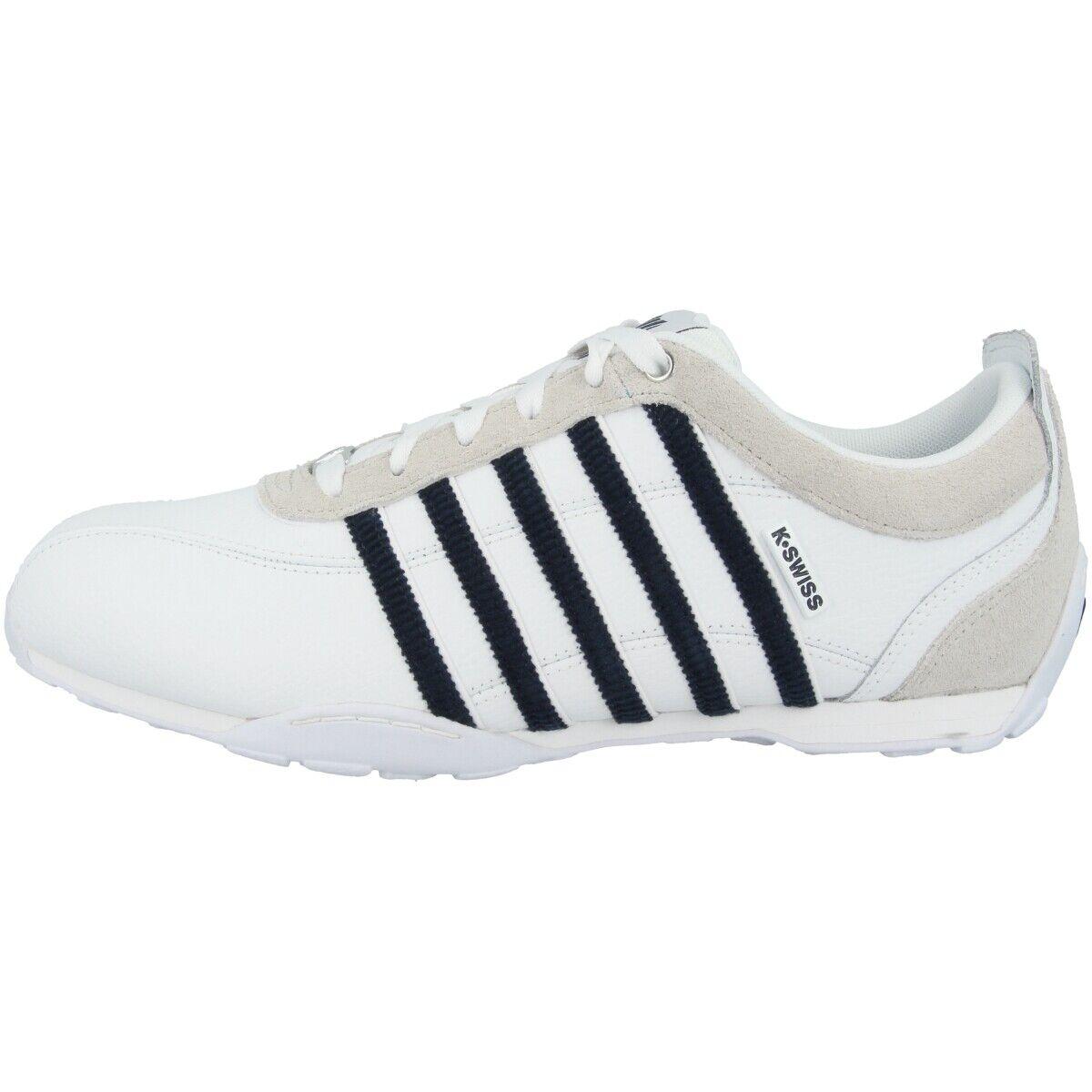 K-swiss Arvee 1.5 baskets Sport Chaussures Loisirs Baskets blanc Navy 02453-138