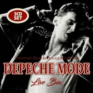 Depeche Mode 3xCD Live Box - Ireland