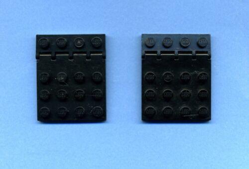 4315-Scharnierplatte 4 x 4-Scharnierhalter 1 x 4 2 Stück Lego--4213 Schwarz