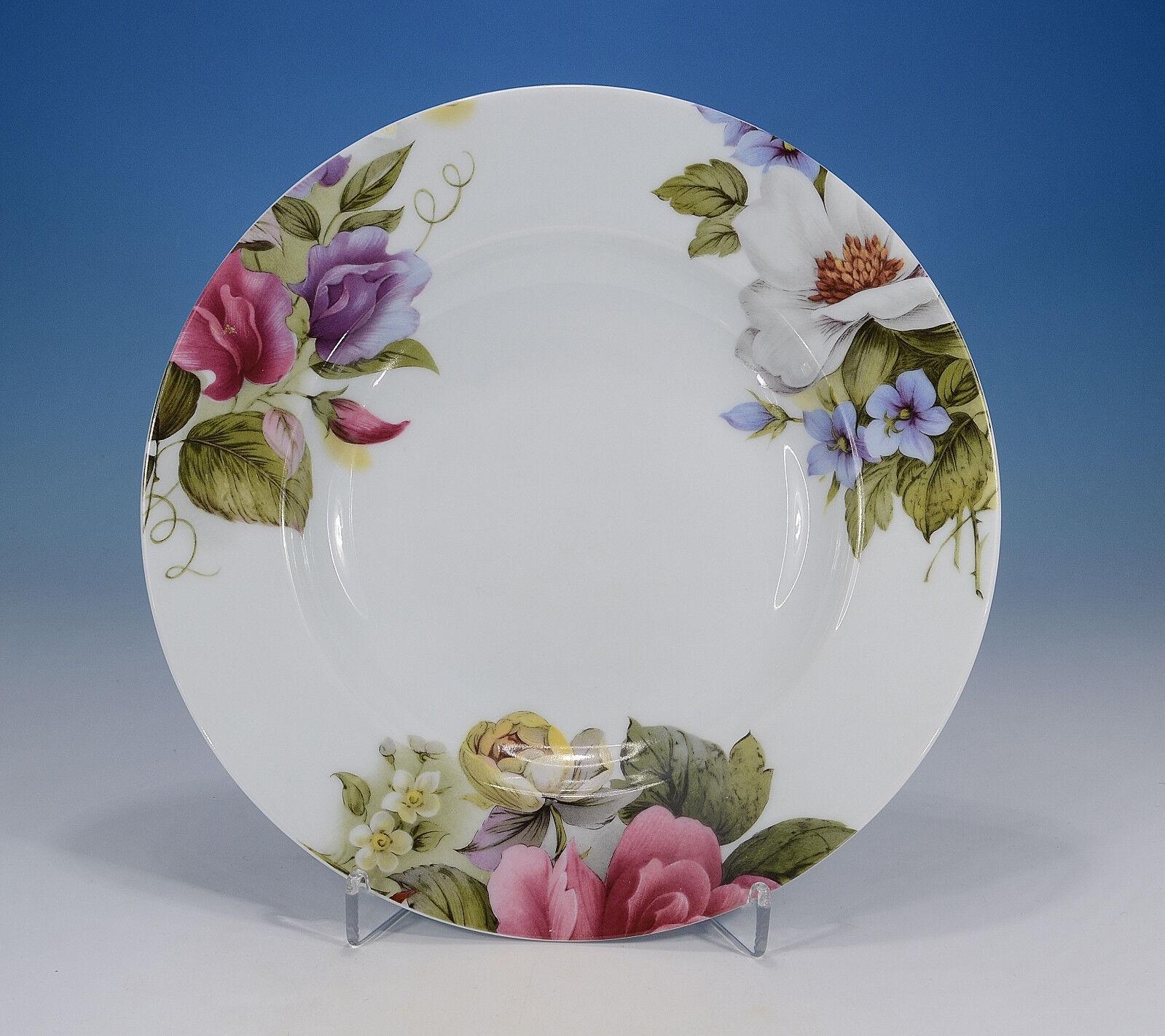 Porcelaine du Site Cgoldt Limoges  Victoria  Suppenteller 22,3 cm.