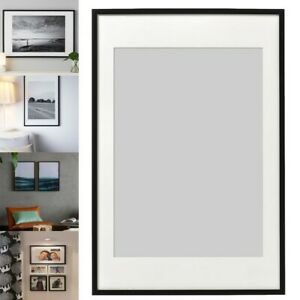 Ikea RIBBA Photo Picture Frame Display Image Hanging//Standing Frame 40x50 cm