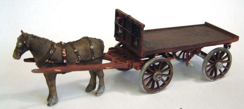 Bahn - pferd wagen o skala 1 43 unlackiert kit m23 - modelle
