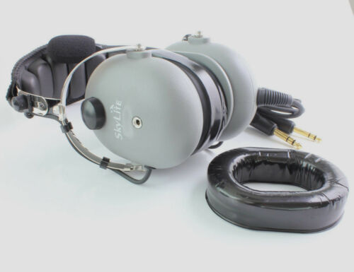 Aviation Pilot Headset Replacement Gel Ear Seals Ok for David Clark