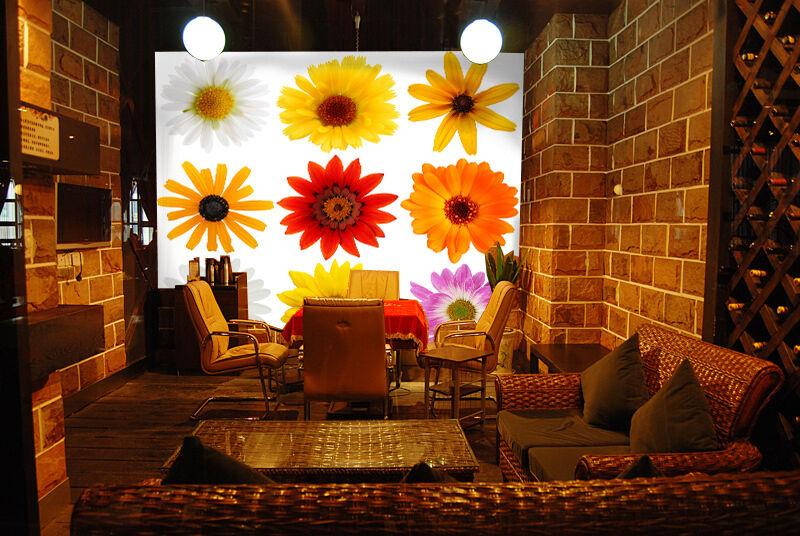 3D Farbe Flowers Highlights Wall Paper Wall Print Decal Wall AJ WALLPAPER CA