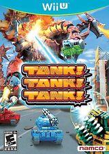 Tank! Tank! Tank! [Nintendo Wii U, NTSC, Cooperative Fun Party Battle Game] NEW