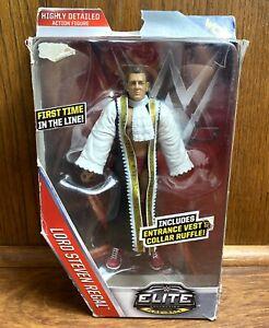 Lord-Steven-Regal-WWE-Mattel-Elite-Series-45-Action-Figure-New-WCW-Flashback-NXT