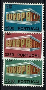 Portugal-SC-1038-1040-Mint-Light-Hinged-043017