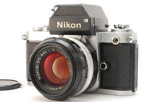 EXC +++++/Nikon f2 Photomic + Nikkor 50mm f1.4 SLR Film Camera aus Japan #0758