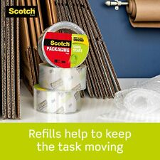 6 Rolls Scotch Sure Start Shipping Packaging Tape 188 X 546 Yds 327 Yards Tot
