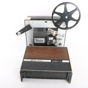 Bell & Howell Autoload Super 8mm Movie Projector Model 461A Works Tested