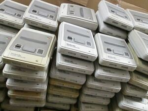 WHOLESALE-Super-Famicom-Lot-of-4-Console-Random-DHL-FREE-Shipping-WORKING-TESTED