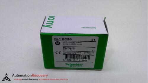 SCHNEIDER ELECTRIC DL1 BDB3 NEW #226966 24 VAC LED GREEN BULB 47MA,