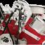 Billet Specialties 10520 Polished Top Mount Alternator Bracket BB Chevy SWP