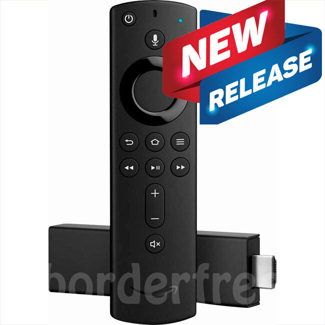 Amazon Fire TV Stick 4K with All-NEW Alexa Voice Remote Streaming Media Player alexa amazon fire media player remote stick streaming voice with